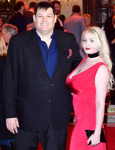 Mark Labbett, wife Katie Labbett, ITV Gala, red carpet