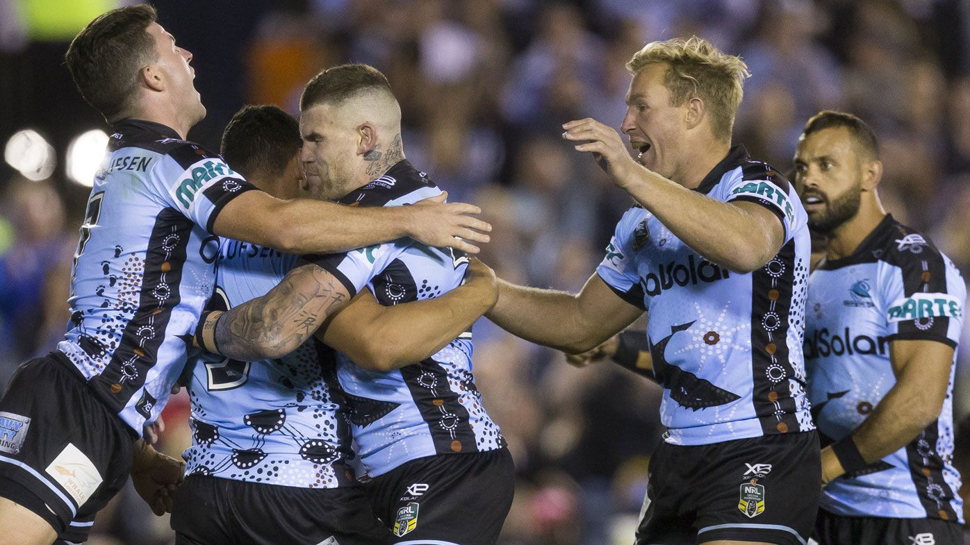 Cronulla Sharks beat Canterbury Bulldogs to go fifth in NRL