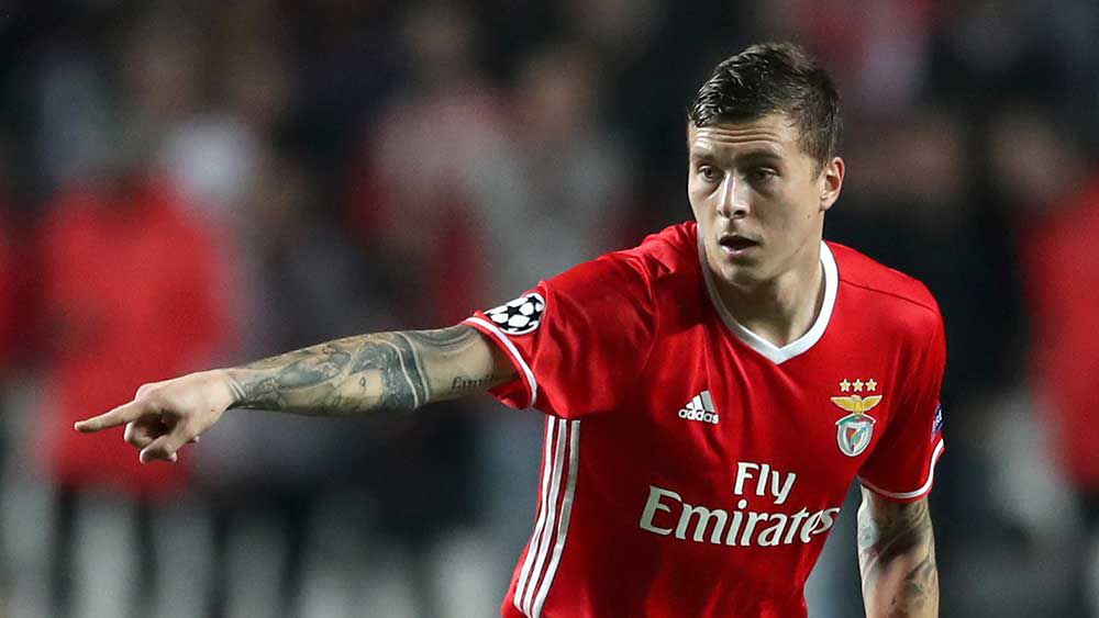 Victor Lindelof is set to make the switch to Manchester United. (AAP)