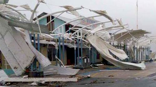 The cyclone ravaged homes and properties from Queensland to New South Wales.