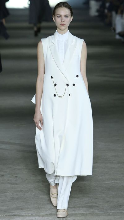 We're sure Kim would embrace the right to bare arms, in this Ellery coat.