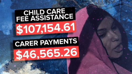Ms Sleiman has been paid more than $150,000 in benefits she was not entitled to.