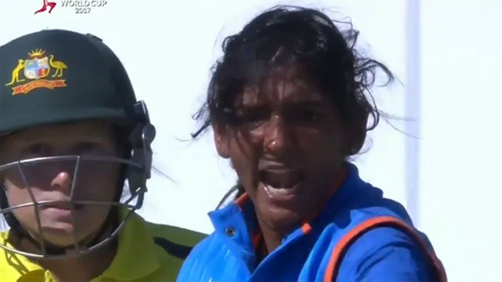 Kaur unleashes tirade at teammate in victory over Australia at Women's World Cup