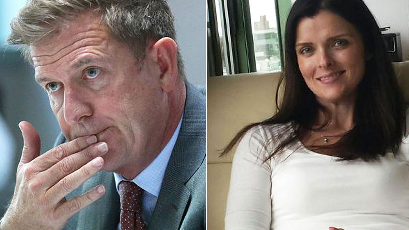 Amber Harrison (l) alleges her future career with the company was threatened if details of the affair with Seven boss Tim Worner were ever made public.