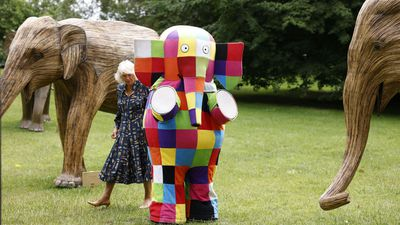 Camilla launches Elephant Story Trail