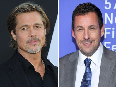 Brad Pitt and Adam Sandler