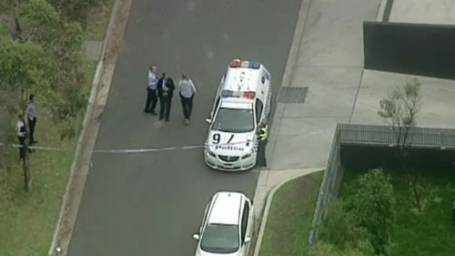 Passers-by were spoken to by police who canvassed the area for clues. (9NEWS)