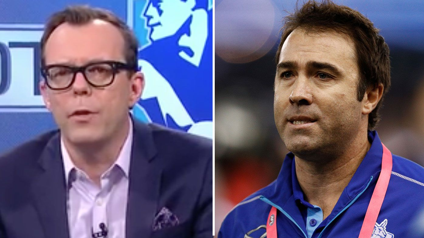 Damien Barrett and Brad Scott's New York bust-up