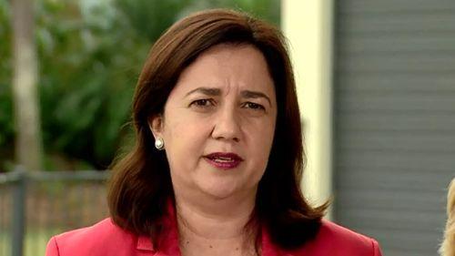 "Premier Annastacia Palaszczuk said she was ""furious"" about the debacle. (9NEWS)"