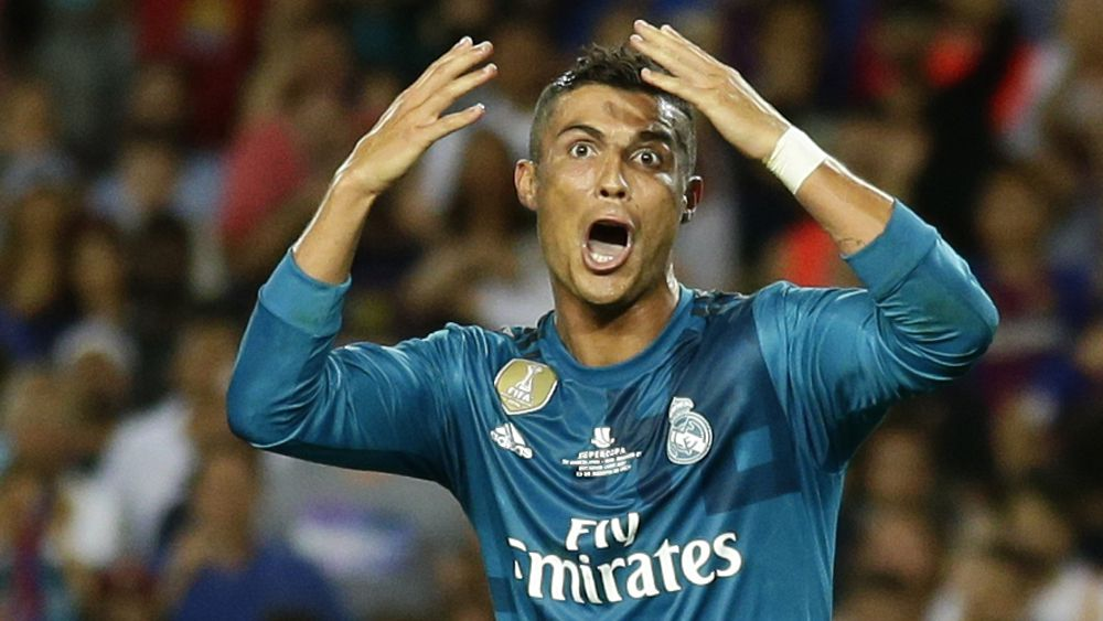 Real Madrid star Cristiano Ronaldo labels five-match ban for shoving referee 'ridiculous'