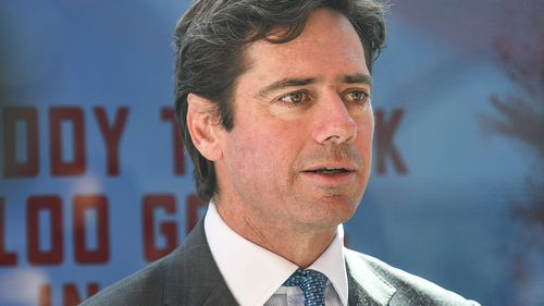 Gillon McLachlan has been linked to the au pair decision.