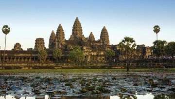 The ancient city of Angkor, Cambodia.