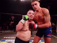 UFC legend makes fighter's dream come true