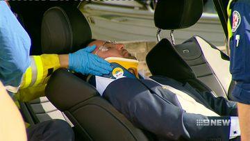 Salim Mehajer in hospital after car crash