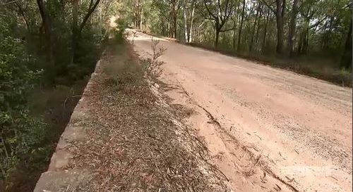 The road is a popular weekend travel spot for motorcyclists. Image: 9News
