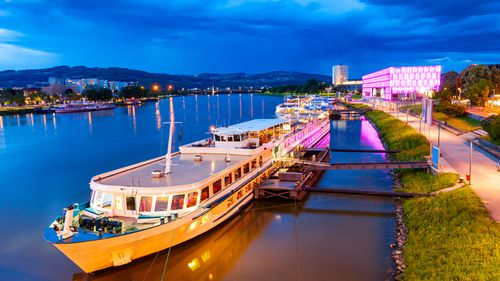 The accident happened on a boat on the Danube in Lutz, Austria