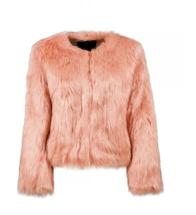"<p><a href=""http://unrealfur.com.au/shop/117-unreal-dream-jacket.html?search_query=jacket&results=29"" target=""_blank"">Unreal Fur Dream Jacket in Pink, $309.</a></p> <p>A cotton candy faux fur jacket will impress everyone - even if you are wearing pajamas underneath.</p>"