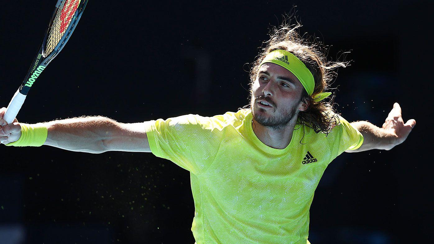 Australian Open: Stefanos Tsitsipas downs Mikael Ymer, advances to fourth round