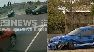 News Melbourne hit run crash crime spree South Gippsland