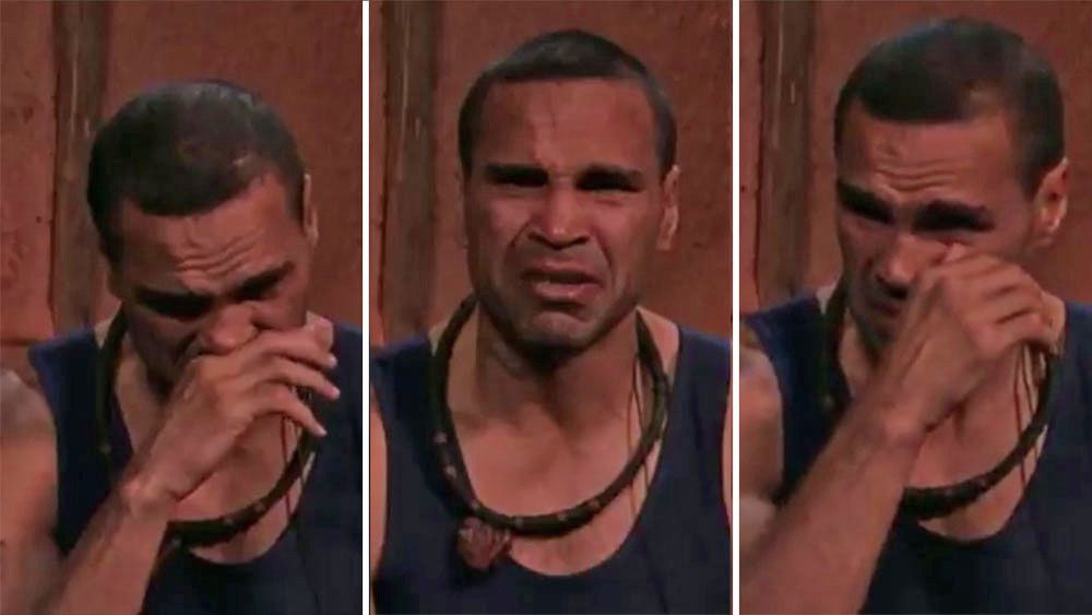 Boxer Anthony Mundine breaks down on 'I'm a Celebrity ... Get Me Out of Here' over fan's tragic story
