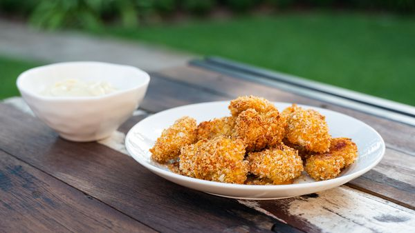 How to make healthy chicken nuggets