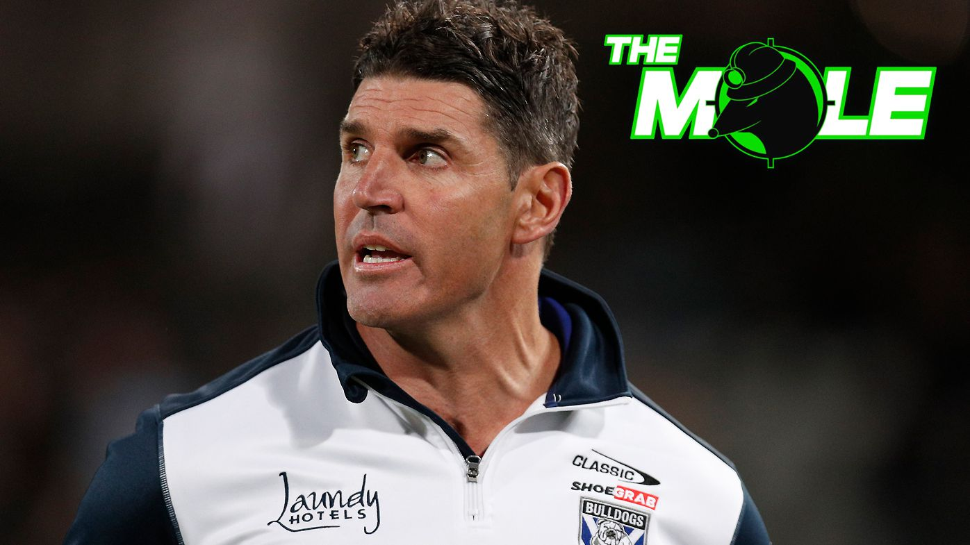 Trent Barrett is rebuilding the Bulldogs