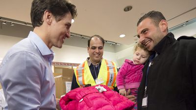 Canada will settle 10,000 refugees by the end of this year and a further 15,000 by the end of February. (AAP)