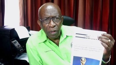 """<p>Former FIFA vice president Jack Warner is the latest in a long line of public figures to have be tricked by satirical news website The Onion.</p><p> Mr Warner, who is facing corruption charges in the US, attacked the country in a video response but unfortunately referenced an article in The Onion to back up his argument. </p><p> The article, published on Wednesday, is titled: """"FIFA Frantically Announces 2015 Summer World Cup In United States"""".  </p><p> The next World Cup is not until 2018. </p><p> In the video he holds up a copy the article, and asks """"if FIFA is so bad why is it the US wants ... the World Cup?"""" </p><p> The video was quickly deleted and reposted without reference to The Onion. </p><p> Click through this gallery to see more cases of people who have been hoodwinked by the satirical publisher. </p><p> </p>"""