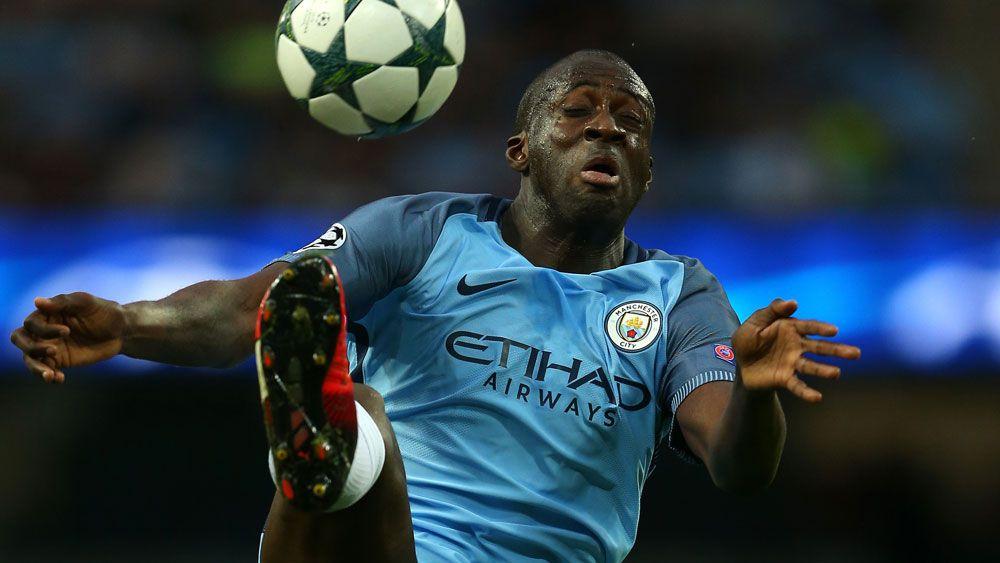 Manchester City midfielder Yaya Toure. (AAP)