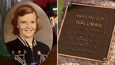 'Somebody knows': Marilyn Wallman's family call for answers