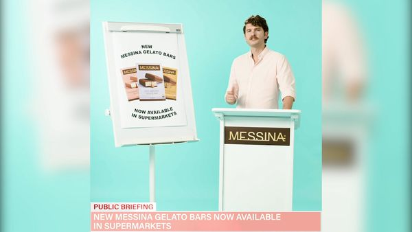 Messina Gelato Bars launch in supermarkets across Australia