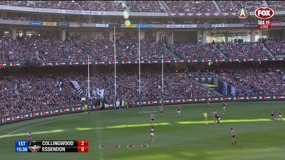 Essendon implodes as Pies dominate Bombers for AFL Anzac win