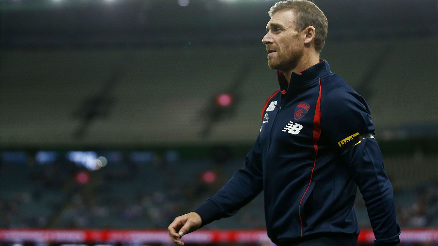 EXCLUSIVE: Finals or bust for AFL's most under-pressure coach, Melbourne's Simon Goodwin