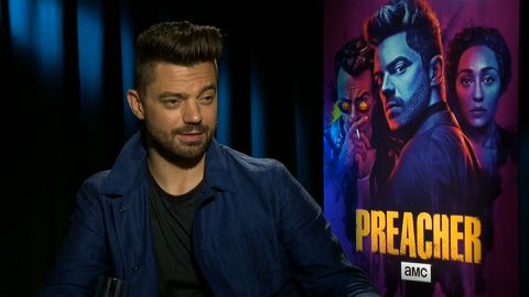 The cast of Preacher on Season 2's ultimate road trip