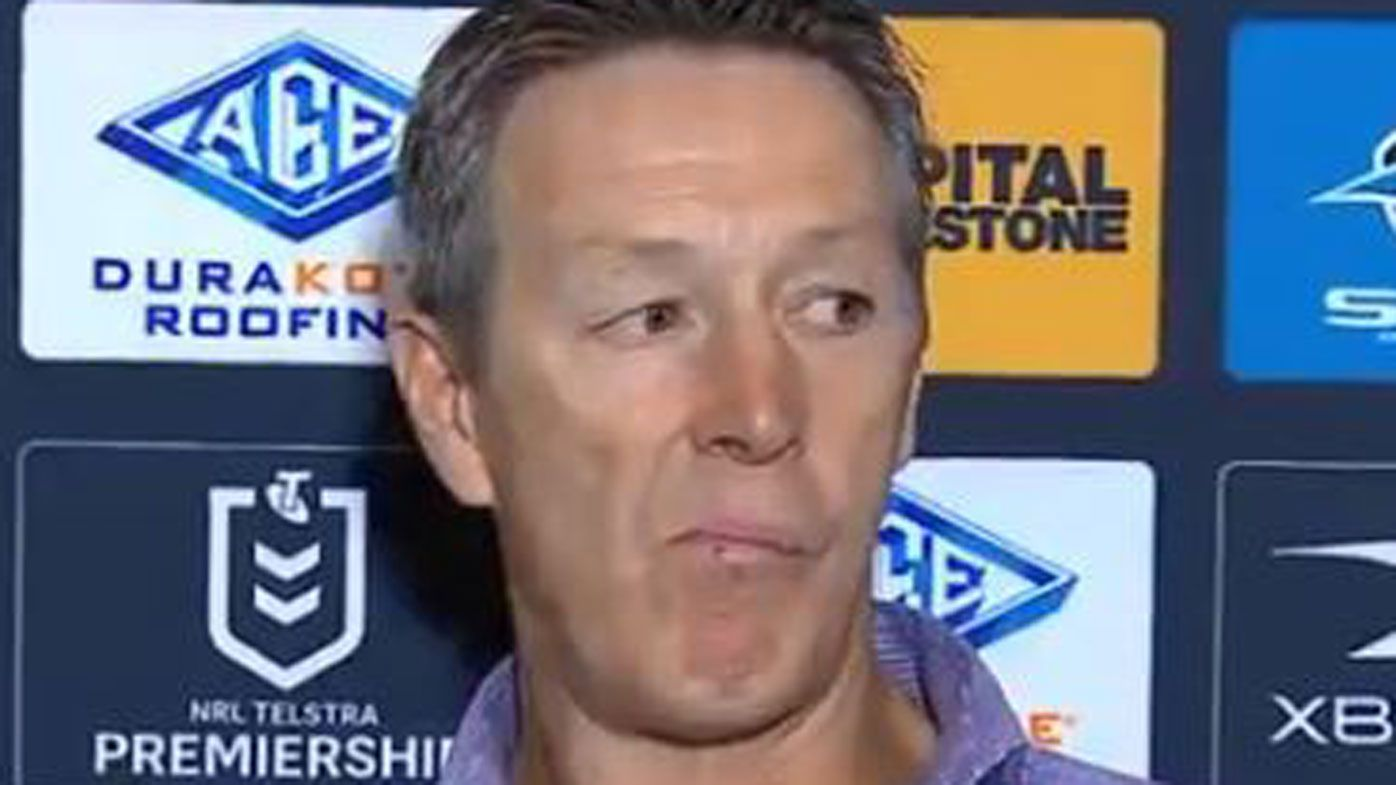 Craig Bellamy threatens player sackings, questions Storm's character after loss