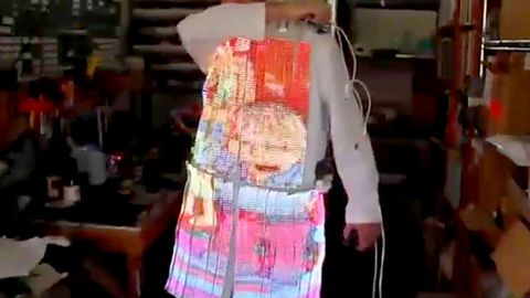 Man invents Simpsons coat you can really watch
