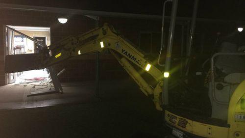 Vandals use excavators to trash Perth primary school
