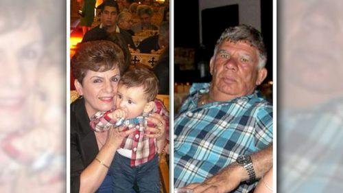 Savvas and Ismini Menelaou were killed when Nei Lima Da Costa ran a red light at 120km/h. (9NEWS)