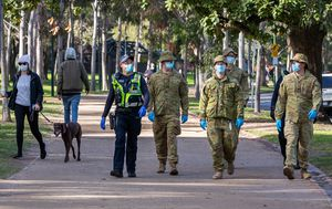 Concerns for Victoria after people found flouting lockdown restrictions