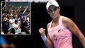 Barty's 'extraordinary' win as supporters turn out in force