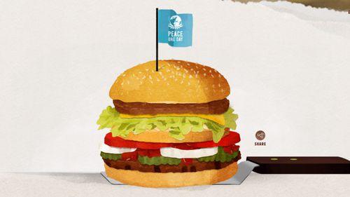The McWhopper. (Burger King)
