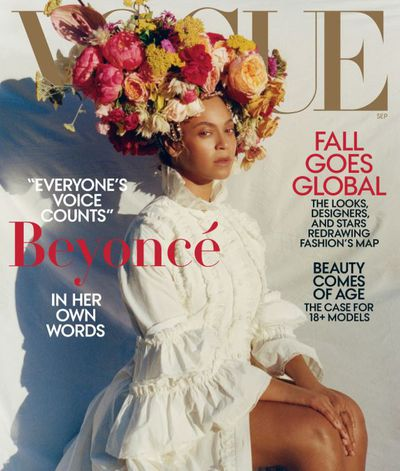 "<p>Beyonc&eacute; has been unveiled as the cover star of<a href=""https://www.vogue.com/article/beyonce-september-issue-2018"" target=""_blank"" draggable=""false""> <em>US Vogue&rsquo;</em>s 2018 September Issue, </a>confirming the <a href=""https://style.nine.com.au/2018/07/31/11/08/september-issue-anna-wintour-vogue-beyonce"" target=""_blank"" title=""worst kept secret in fashion news."" draggable=""false"">worst kept secret in fashion news.</a><br /> <br /> Clad in a white Gucci frock and floral headpiece from Rebel Rebel, the Single Ladies singer is resplendent as she fronts for the most important fashion cover of the year.&nbsp;<br /> <br /> The issue will earn Queen Bay and 23-year-old photographer, Tyler Mitchell, a spot in the history books.&nbsp;<br /> <br /> It&rsquo;s the first-time an African American has snapped the cover of the coveted fashion publication in its 126-year history and it&rsquo;s the first time that entire editorial control has been handed over to the main subject.<br /> <a href=""https://style.nine.com.au/2018/05/11/14/30/beyonce-style"" target=""_blank"" draggable=""false""><br /> Yet, Beyonc&eacute; isn&rsquo;t here just to create a visual legacy.</a> Inside the pages, the renowned enigma let her vulnerability show through, revealing that she danced with death last year during the birth of her twins Rumi and Sir Carter in June.<br /> <br /> ""I was 218 pounds (100 kig)&nbsp; the day I gave birth to Rumi and Sir. I was swollen from toxemia and had been on bed rest for over a month. My health and my babies&rsquo; health were in danger, so I had an emergency C-section, "" said Beyonce.</p> <p>""Today I have a connection to any parent who has been through such an experience. After the C-section, my core felt different. It had been major surgery. Some of your organs are shifted temporarily, and in rare cases, removed temporarily during delivery. I am not sure everyone understands that. I needed time to heal, to recover,&rdquo;</p> <p>The mother-of-three also got real about body-image, stating that her body hasn&rsquo;t been the same post-birth.<br /> <br /> ""To this day my arms, shoulders, breasts, and thighs are fuller. I have a little mommy pouch, and I&rsquo;m in no rush to get rid of it. I think it&rsquo;s real. Whenever I&rsquo;m ready to get a six-pack, I will go into beast zone and work my ass off until I have it. But right now, my little FUPA and I feel like we are meant to be.""<br /> <br /> Click through to see all the highlights from Beyonce&rsquo;s history-making <em>Vogue </em>cover.</p>"