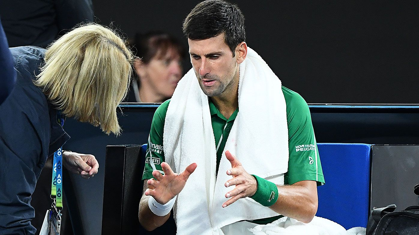 'Not quite right': Novak Djokovic criticised for medical treatments in Australian Open men's final