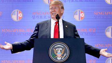 Trump's bizarre marathon press conference to end summit