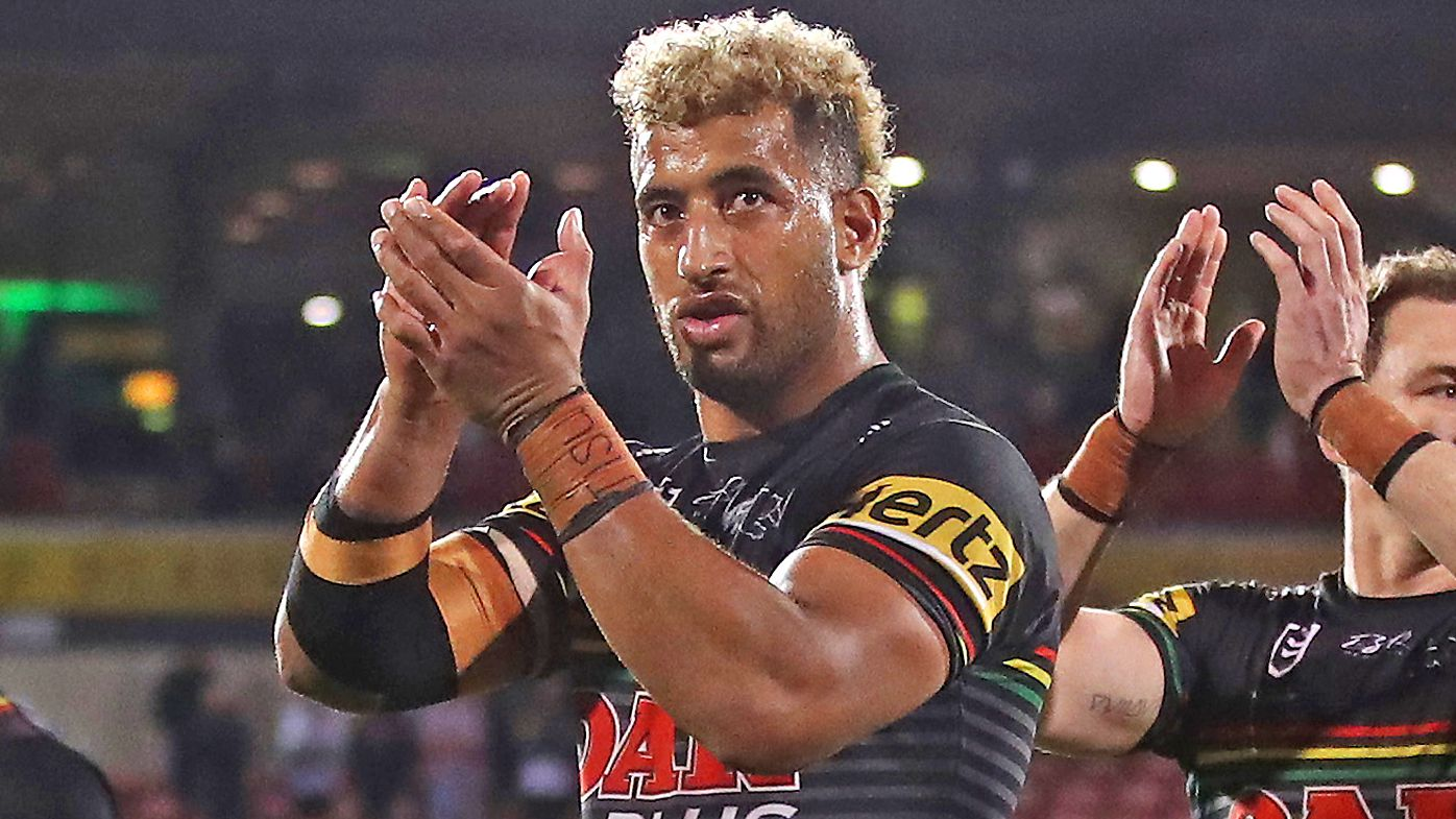 Viliame Kikau of the Panthers
