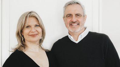 Sophie and Steve Virosol covid-19 disinfectant children