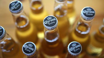 Production of Corona beer has been temporarily suspended in Mexico because of the coronavirus pandemic.