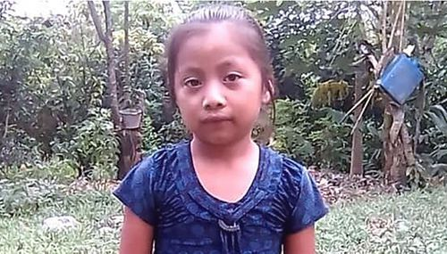 The parents of Jakelin Caal said she had been given food and water and appeared to be in good health as she travelled through Mexico with her father.