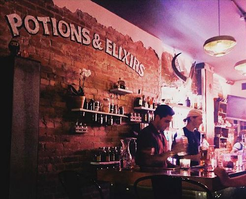 The owners have made sure the bar can be enjoyed by non-Harry Potter fans as well, while still keeping the magic alive. (Instagram: @littleredriothood)
