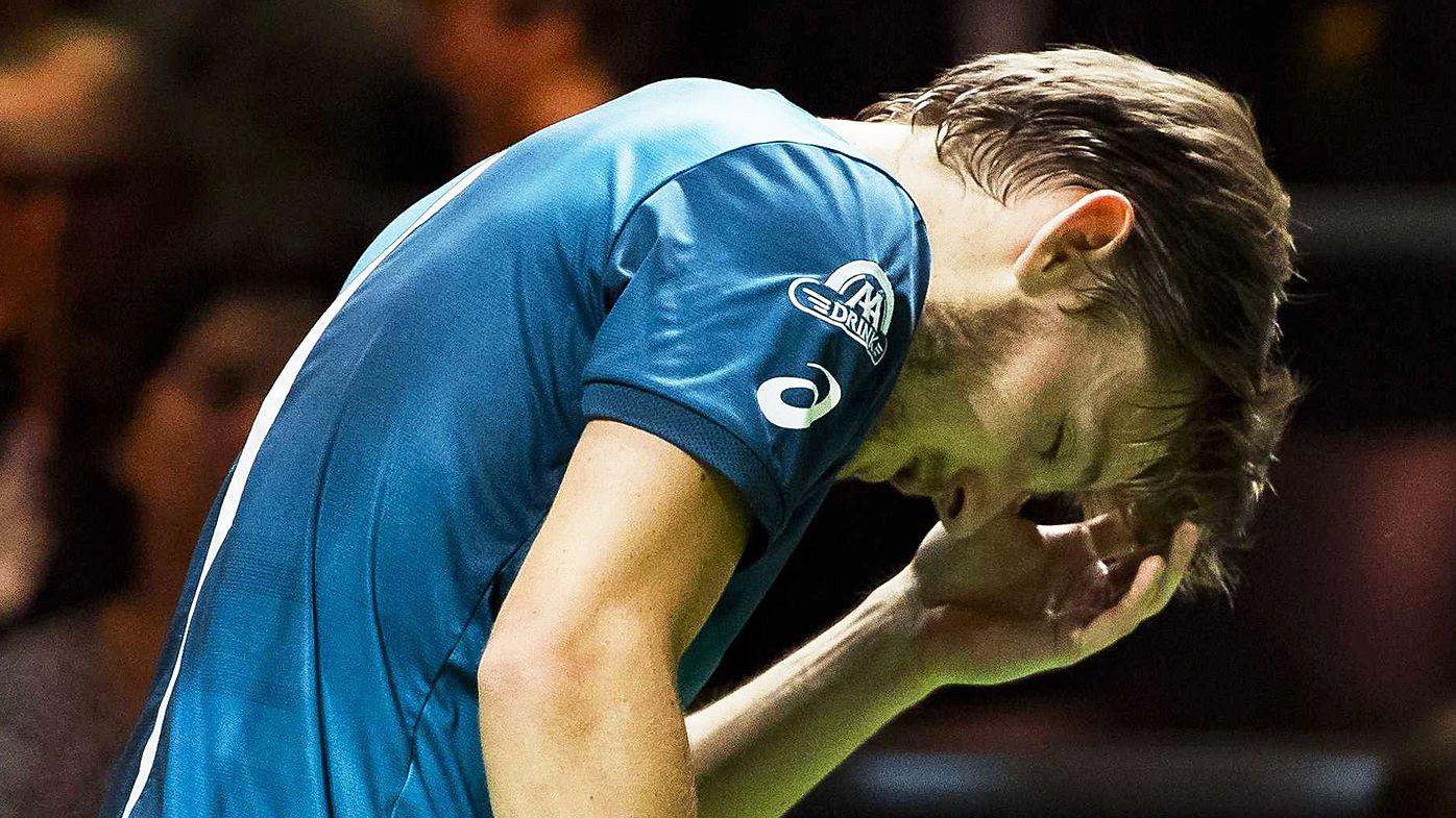 Tennis: Roger Federer and Grigor Dimitrov in Rotterdam showdown, David Goffin retires with freak eye injury